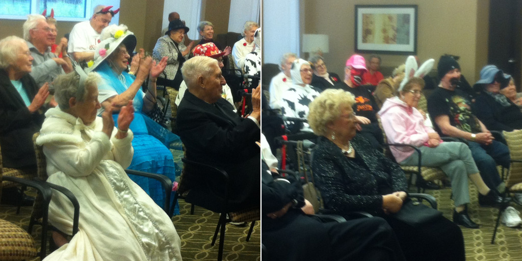 Halloween magic show for the residents of Port Credit Residences