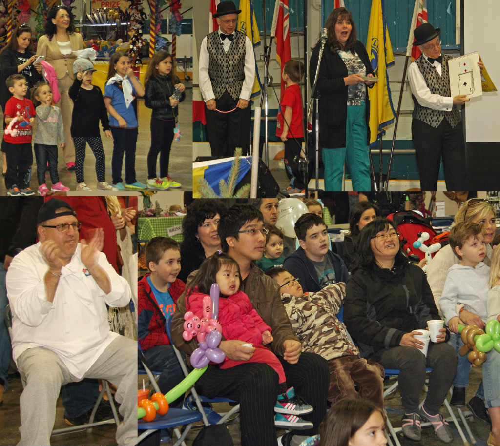 The Party Magician at The Maple Lions Club Pancake Festival 2015